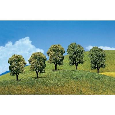 Modélisme : Végétation : Arbres Premium : 5 arbres feuillus - Faller-181218