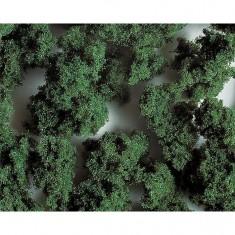 Modélisme : Végétation Premium : Flocons grossiers vert moyen : 290 ml