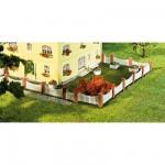 Modélisme HO : Accessoires de décor : Clôture de jardinet