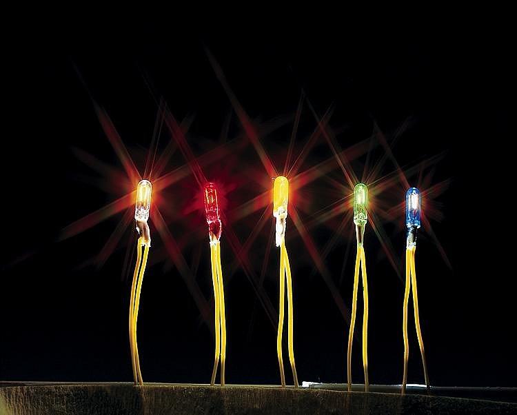 Modélisme : Eclairage : Mini ampoule bleue - Faller-180676