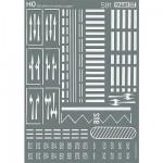 Modélisme HO : Accessoires de décor : Signalisation routière
