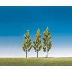 Modélisme HO : Végétation : 3 bouleaux