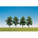 Modélisme : Végétation : 4 arbres fruitiers