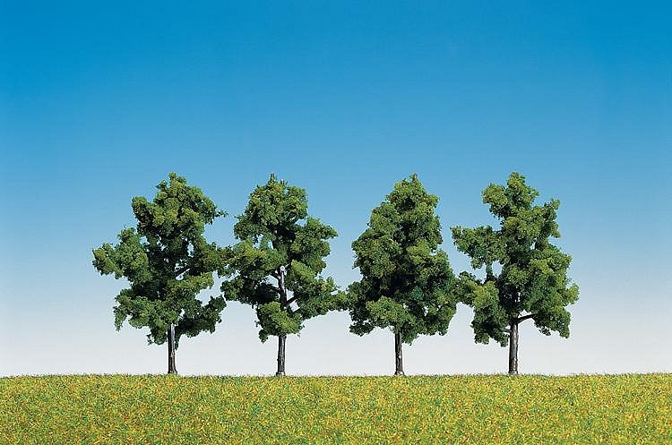 Modélisme : Végétation : 4 arbres fruitiers - Faller-181402