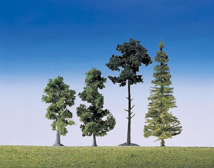 Modélisme : Végétation : Assortiment de 15 arbres de forêt - Faller-181495