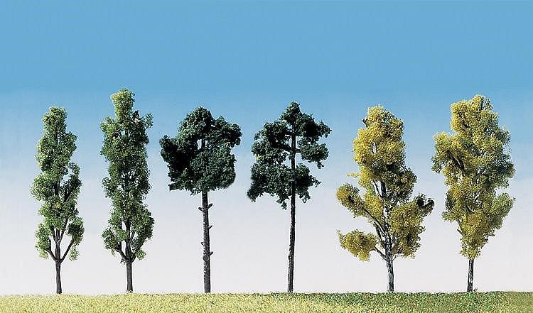 Modélisme : Végétation : Assortiment de 6 arbres - Faller-181488