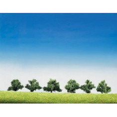 Modélisme : Végétation : Arbres série super : 6 broussailles