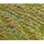 Modélisme : Végétation : Segments de paysage Premium : Cours de ruisseau