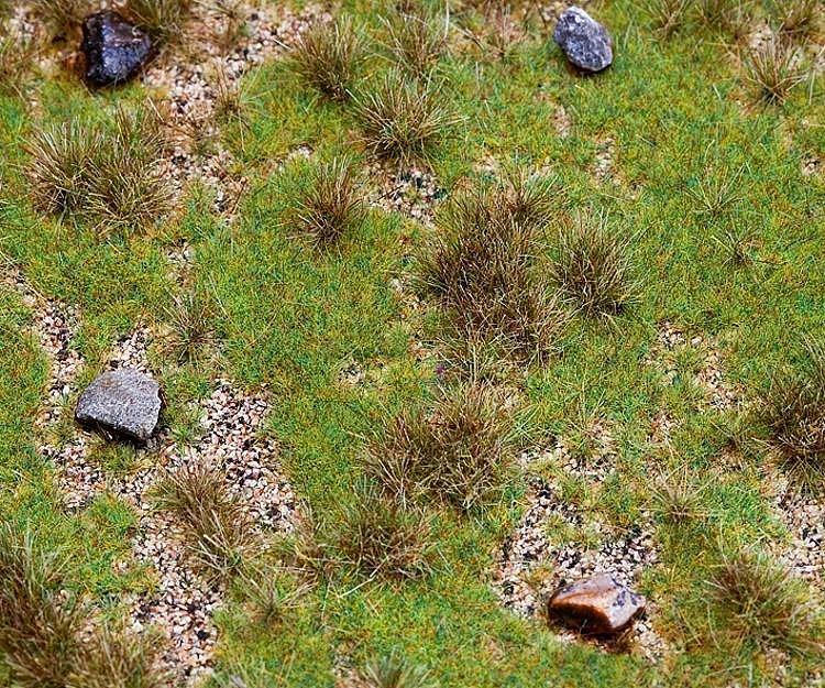 Modélisme : Végétation : Segments de paysage Premium : Prairie avec bloc erratique - Faller-180476