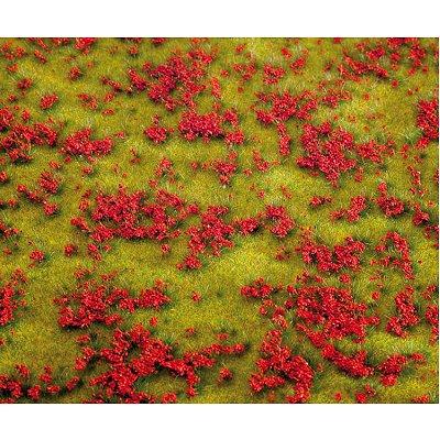 Modélisme : Végétation: Segments de paysage Premium : Prairie fleurie rouge - Faller-180460