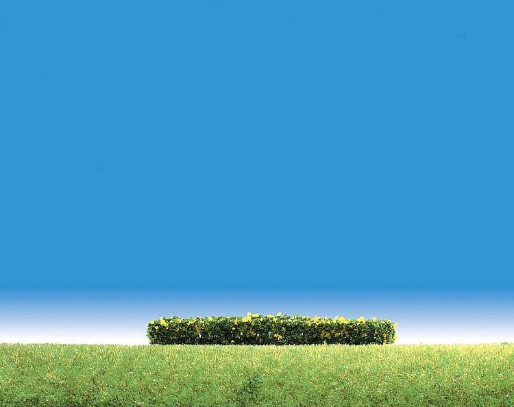 Modélisme : Végétation : 3 haies à fleurs jaunes - Faller-181399