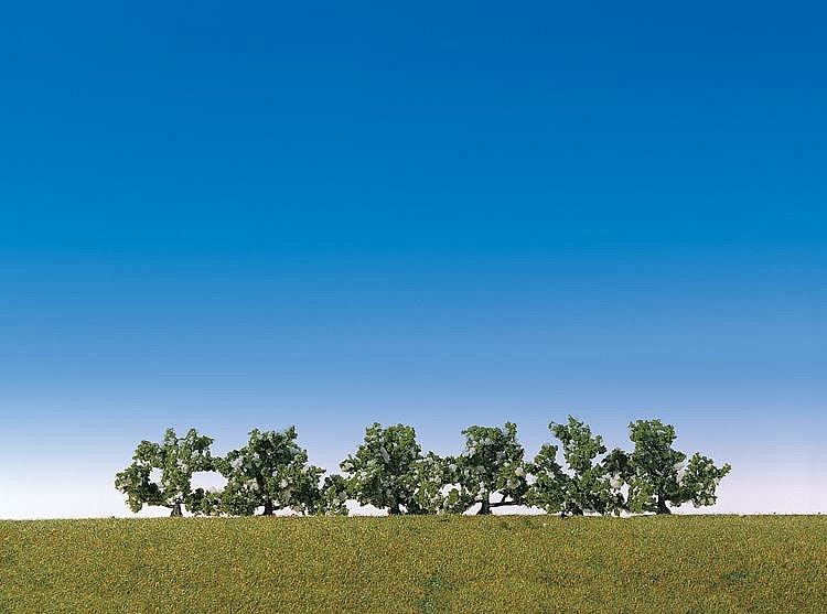 Modélisme : Végétation : 6 buissons à fleurs blanches - Faller-181478