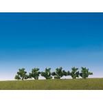 Modélisme : Végétation : 6 buissons verts