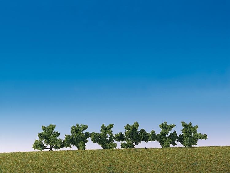 Modélisme : Végétation : 6 buissons verts - Faller-181479