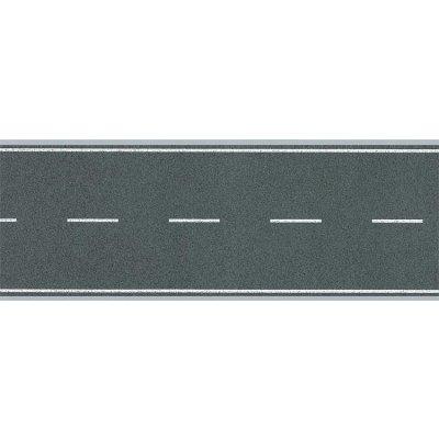 Modélisme HO : Chaussées : Feuille route souple avec marquage - Faller-170630