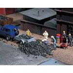 Modélisme : Matériel de flocage : Déchets de charbon