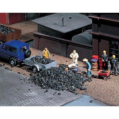 Modélisme : Matériel de flocage : Déchets de charbon - Faller-170724