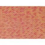 Modélisme HO : Plaque de mur : Brique