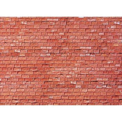 Modélisme HO : Plaque de mur : Grès rouge - Faller-170613