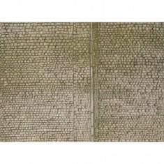 Modélisme HO : Plaque de mur : Pavés