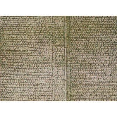 Modélisme HO : Plaque de mur : Pavés - Faller-170601
