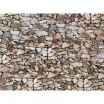 Modélisme HO : Plaque de mur : Pierre naturelle monzonite