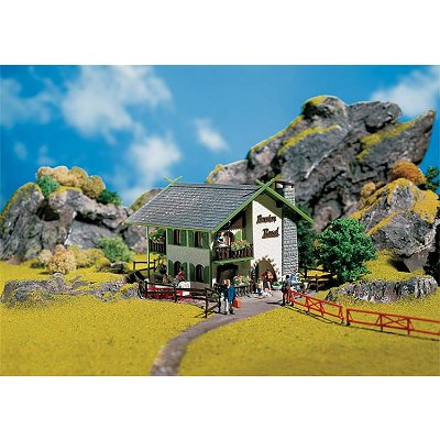 Modélisme HO: Auberge de montagne Rosel - Faller-130286