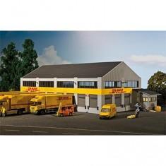 Modélisme HO : Centre logistique DHL