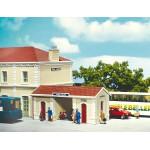 Modélisme ferroviaire HO : Gare de Saint Julien : Abri de quai