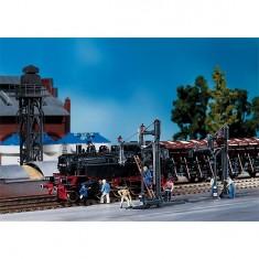 Modélisme ferroviaire HO : 2 pompes de remplissage d'eau