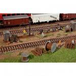 Modélisme ferroviaire HO : Accessoires de gare