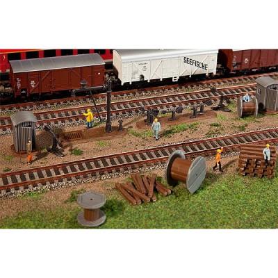 Modélisme ferroviaire HO : Accessoires de gare - Faller-120141