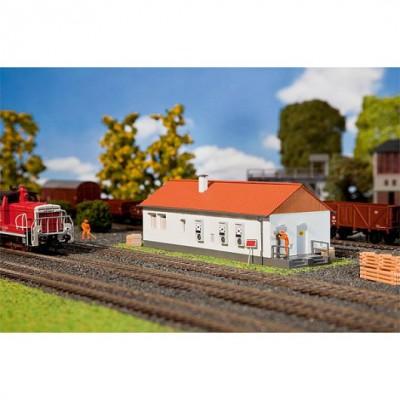 Modélisme ferroviaire HO : Centre d'exploitation ESTW - Faller-120214