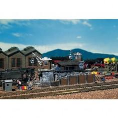 Modélisme ferroviaire HO : Dépôt de charbon