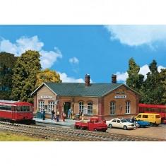 Modélisme ferroviaire HO : Gare d'arrêt de Sonnefeld