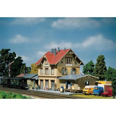 Modélisme ferroviaire HO : Gare de Güglingen avec remise - Faller-110107