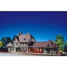 Modélisme ferroviaire HO : Gare de Schwarzburg