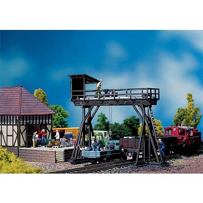 Modélisme ferroviaire HO : Grue portique - Faller-120127