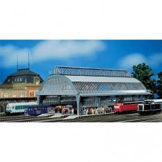 Modélisme ferroviaire HO : Hall de gare