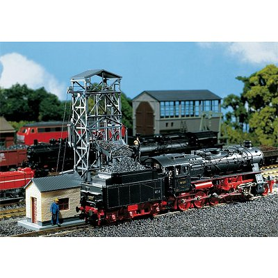 Modélisme ferroviaire HO : Monte-charge à charbon - Faller-120220