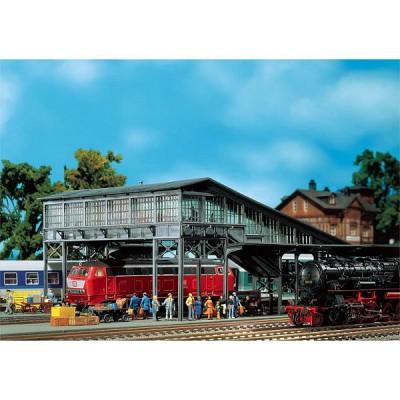 Modélisme ferroviaire HO : Faller Hobby : Passerelle de quais - Faller-131279