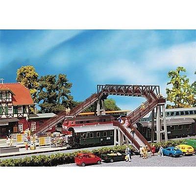 Modélisme ferroviaire HO : Passerelle piétons - Faller-120179