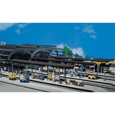 Modélisme ferroviaire HO : Quais de gare couverts - Faller-120191