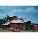 Modélisme ferroviaire HO : Remise à locomotives 2 emplacements
