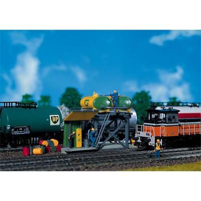 Modélisme ferroviaire HO : Réservoir de gaz-oil pour locomotives Diesel - Faller-120145
