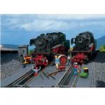 Modélisme ferroviaire HO : 2 fosses de visite