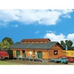Modélisme ferroviaire HO : Hangar à marchandises