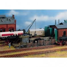 Modélisme ferroviaire HO : Petit chargeur de charbon