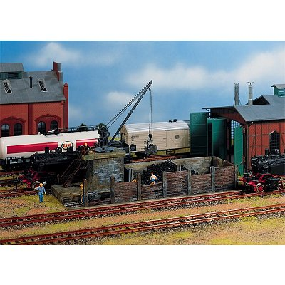 Modélisme ferroviaire HO : Petit chargeur de charbon - Faller-120131
