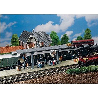 Modélisme ferroviaire HO : Quai de gare - Faller-120192